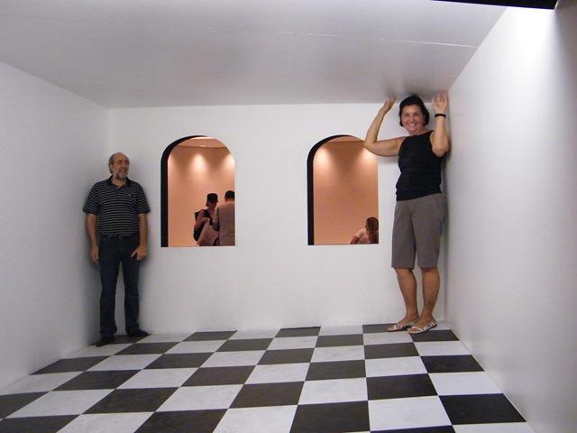 Minha esposa cresceu!!! Maurits Escher