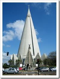 Catedral Nossa Senhora da Graça - Maringá - Paraná - Brasil - 19.07.2011