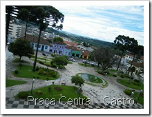 Praça Central - Castro