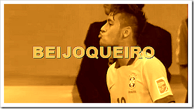 neymar beijoqueiro